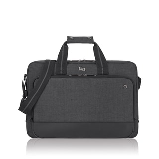Solo Urban Grey 15.6-inch Laptop and Tablet Briefcase