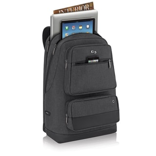 Solo Urban Grey 15.6-inch Laptop Backpack