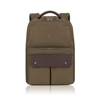 Solo Executive Khaki 15.6-inch Laptop Backpack