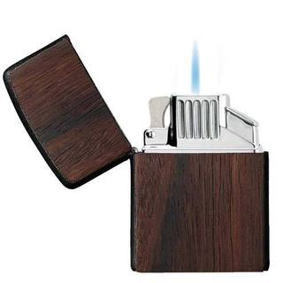 Zippo ZPlus Double Torch Flame Cigar Lighter with Handcrafted Indian Rosewood Finish by Brizard & Co.