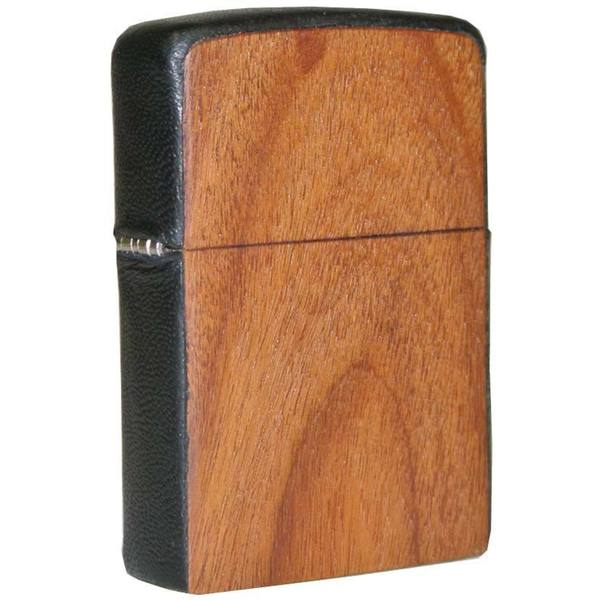 Zippo ZPlus Double Torch Flame Cigar Lighter with Handcrafted Pau Faro Rosewood Finish by Brizard & Co.