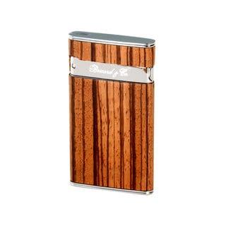 Brizard & Co Zebrawood Sottile Lighter
