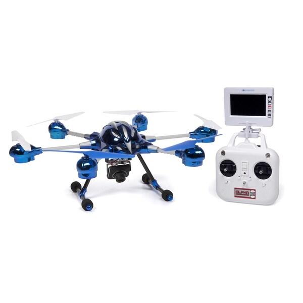 World Tech Toys Alpha 2.4GHz 4.5CH Camera RC Spy Drone