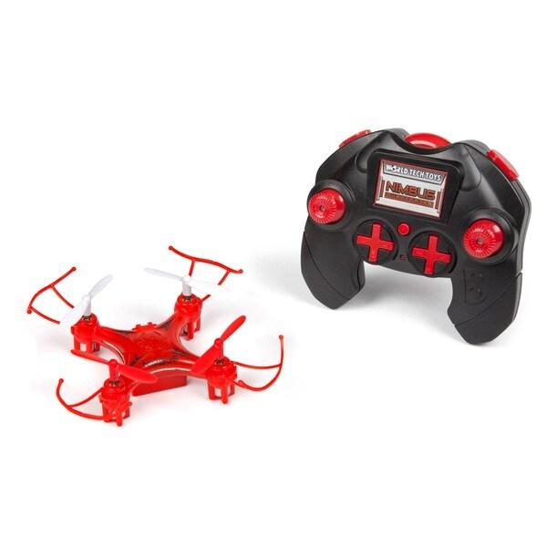 World Tech Toys 4.5-channel Nimbus 2.4GHz Mini RC Drone 16364372