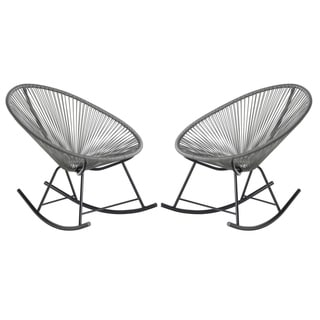 Acapulco Rocking Chair, Set of 2, Indoor / Outdoor, Stackable