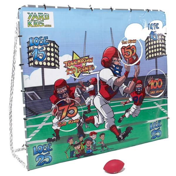 Yard Kids Football Game & Soccer Goal Post