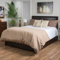 Christopher Knight Home Hilton Bonded Leather Bed Set
