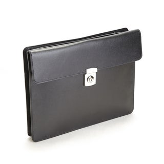 Royce Leather RFID Blocking Executive Underarm Tablet Portfolio Brief in Saffiano Leather