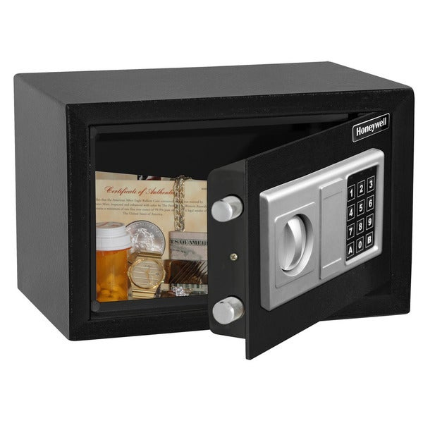 Honeywell Digital Steel Security Safe in Black Finish