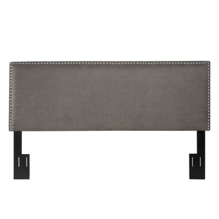 angelo:HOME Fred Parisian Smoky Grey King/California King Headboard