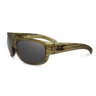 Kaenon Men's Ozlo Matte Seaweed G12 Oval Polarized Sunglasses