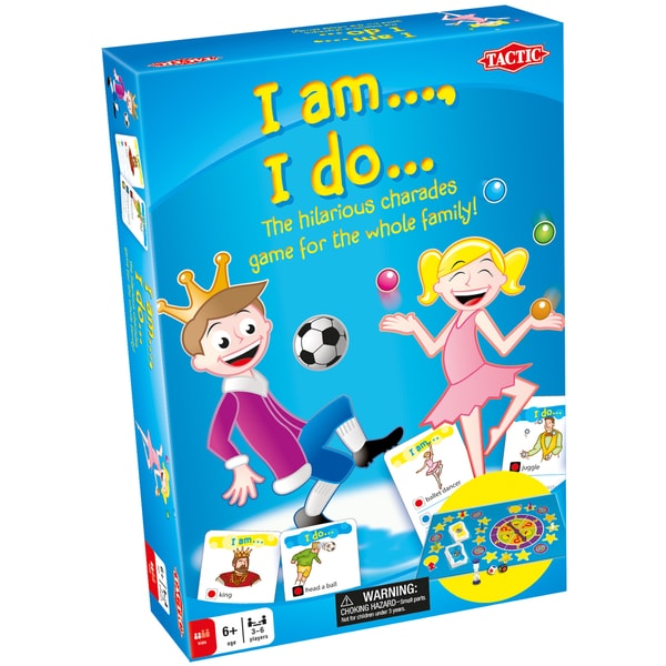 I Am, I Do Board Game