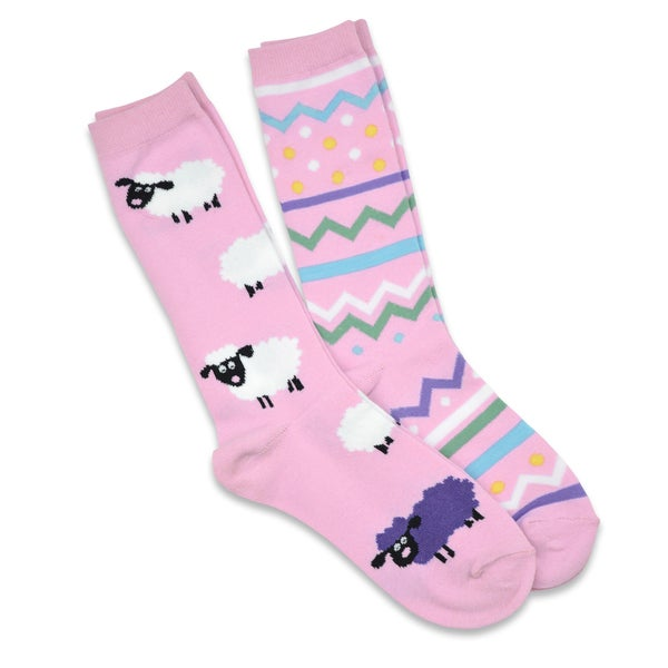 TeeHee Easter Cotton Crew 2-pack Women's Socks