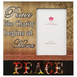 Fashioncraft Peace Picture Frame
