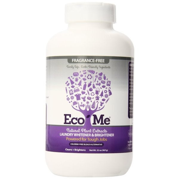 Eco-Me All Natural Fragrance Free 32-ounce Laundry Whitener-Brightener (Pack of 6)
