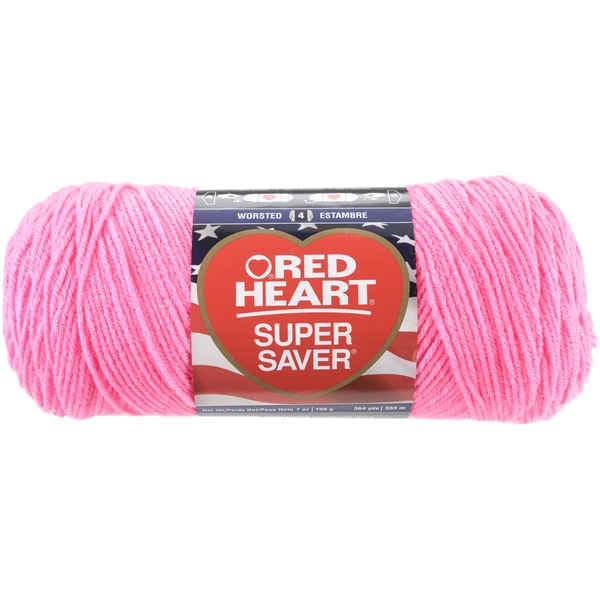 Red Heart Super Saver YarnPretty 'n Pink