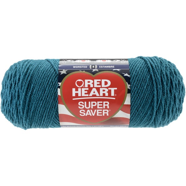 Red Heart Super Saver YarnReal Teal