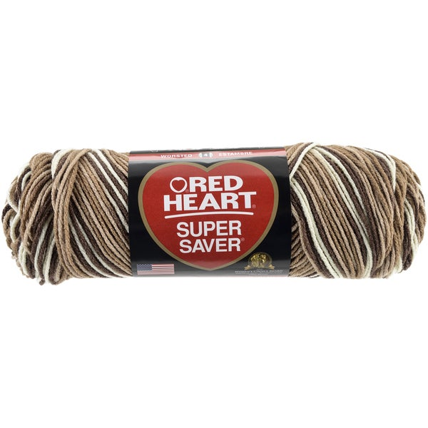 Red Heart Super Saver YarnShaded Browns