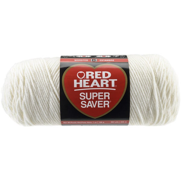 Red Heart Super Saver YarnSoft White