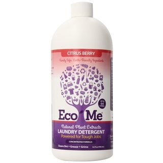 Eco-Me All Natural 32 ounce Laundry Detergent Pack of 6