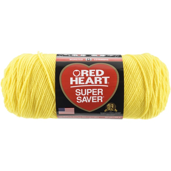 Red Heart Super Saver YarnBright Yellow