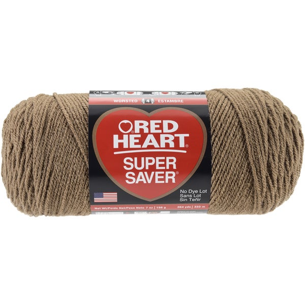 Red Heart Super Saver YarnCafe Latte