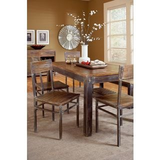 Classic Rustic Mango Wood Dining Table