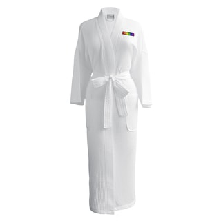 Conrad Egyptian Cotton LGBT Pride Waffle Spa Robe - Flag (Female)