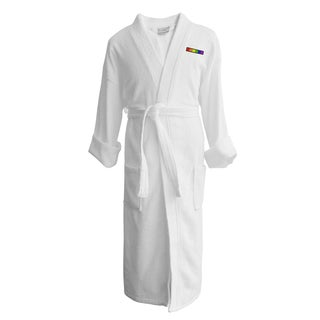 Wyndham Egyptian Cotton LGBT Pride Terry Spa Robe - Flag (Male)