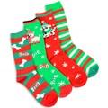 Women's Christmas Holiday Crew Socks (Pack of 4)