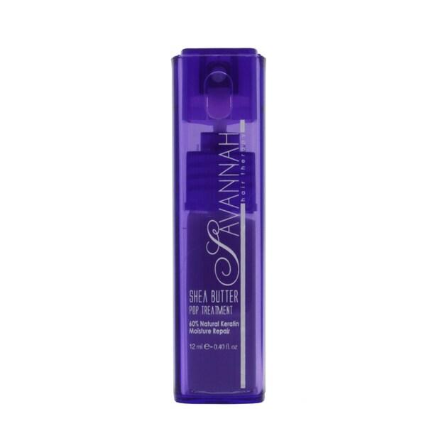Savannah Hair Therapy Pop Shea 60-percent 0.4-ounce Keratin Treatment