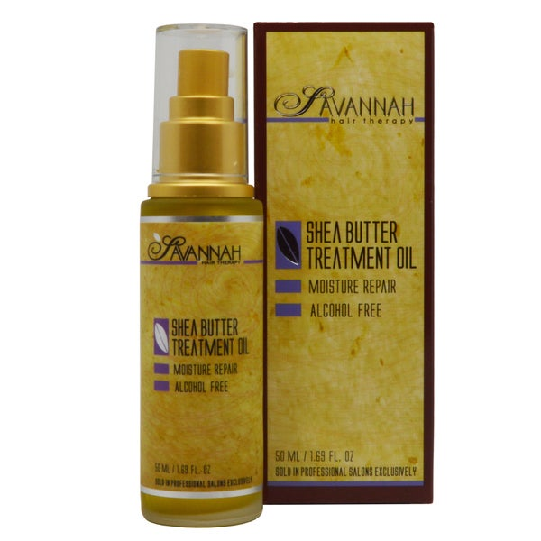 Savannah Hair Therapy Shea Butter 1.69-ounce Treatment Oil