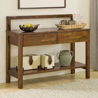 Natural Timber Chunky Solid Wood Sideboard
