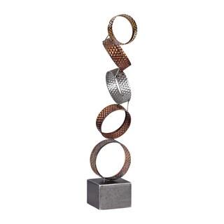 Sterling Heavy Metal Ring Sculpture