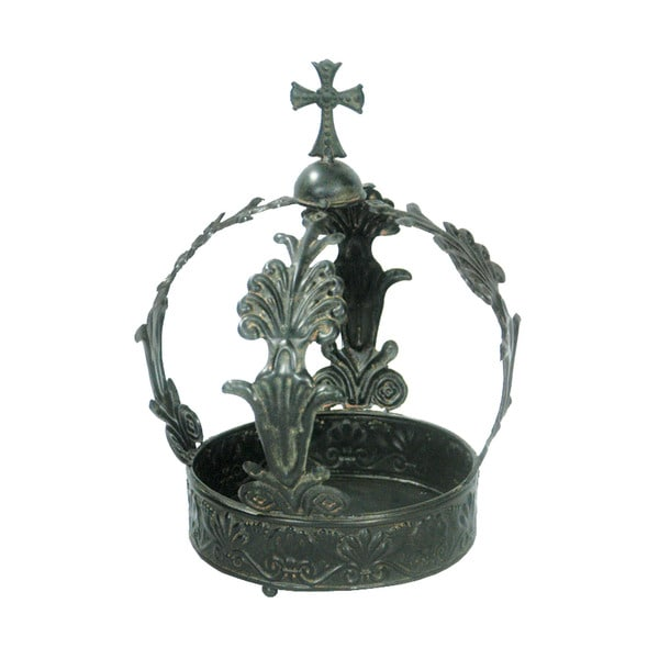 Sterling King George Crown Figurine