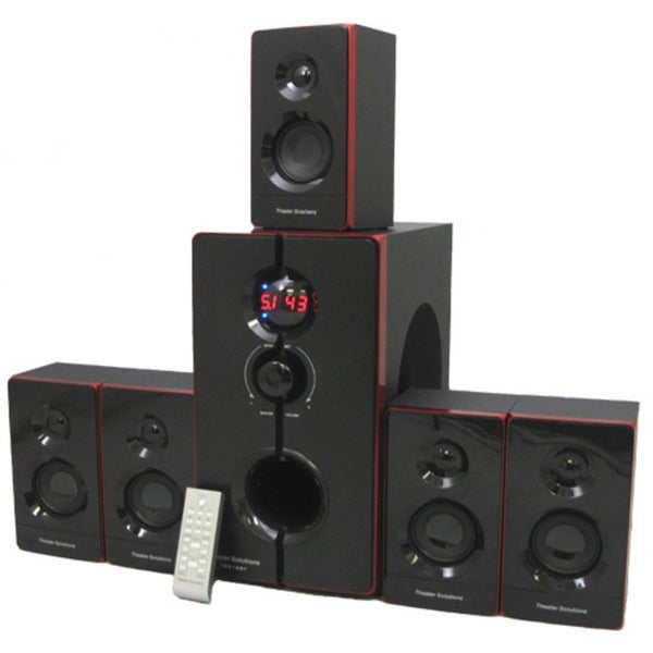 Theater Solutions TS516BT 5.1-channel 800-watt Bluetooth Home Theater Surround Sound System