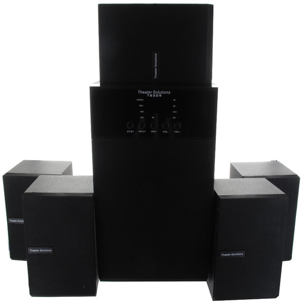 Theater Solutions TS509 5.1-channel Surround Sound Home Entertainment System