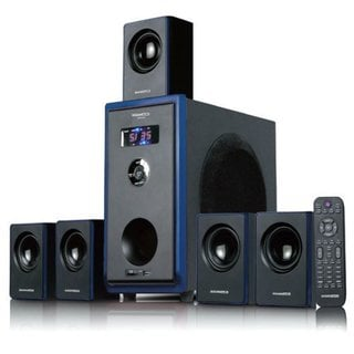 Acoustic Audio AA5102 800W 5.1-channel 800-watt Home Theater Surround Sound Speaker System