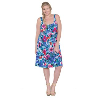 Sealed with a Kiss Women's Plus Size 'Melissa' Tank Dress