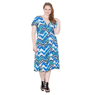 Sealed with a Kiss Women's Plus Size 'Kelly' Dress