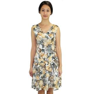 Relished Floral Flurries Dress