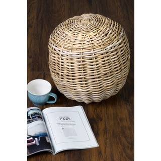 Large Ferriday Rattan Ball Décor