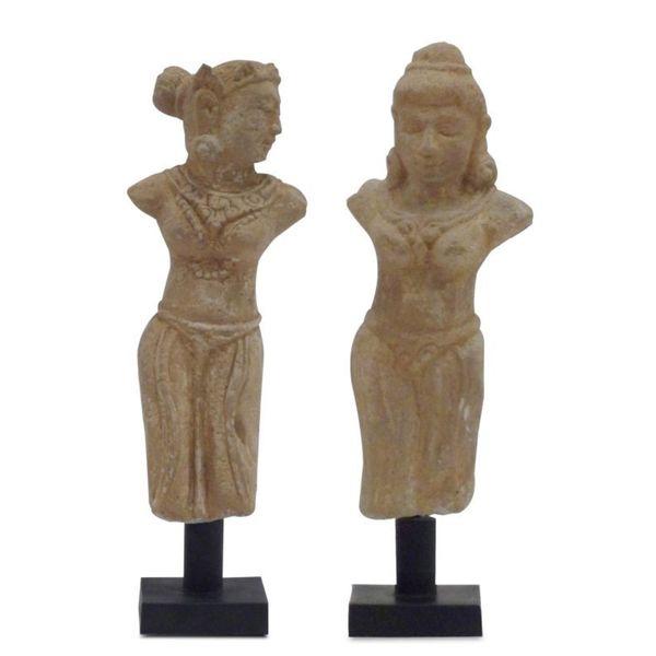 Kraemer Stone Goddess Statues