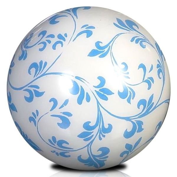 Eden Blue and White Decorative Ball Dcor
