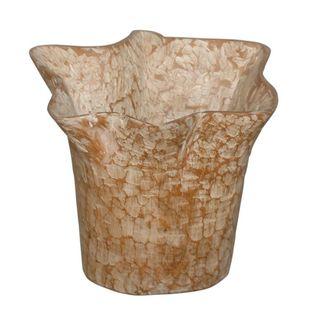 Decorative Cankton Teakwood Pot
