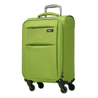 Skyway FL-Air Solid 20-inch Lighweight Expandable Carry On Spinner Upright Suitcase