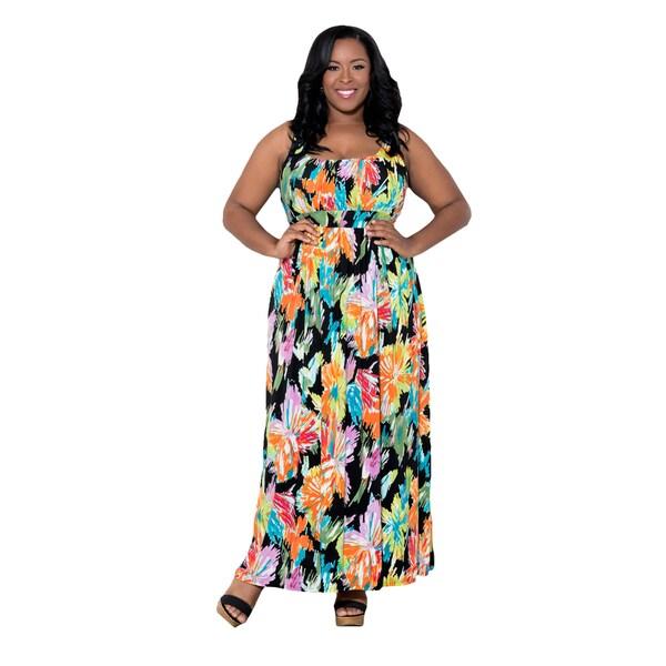 Sealed with a Kiss Women's Plus Size 'Yolanda' Maxi Dress