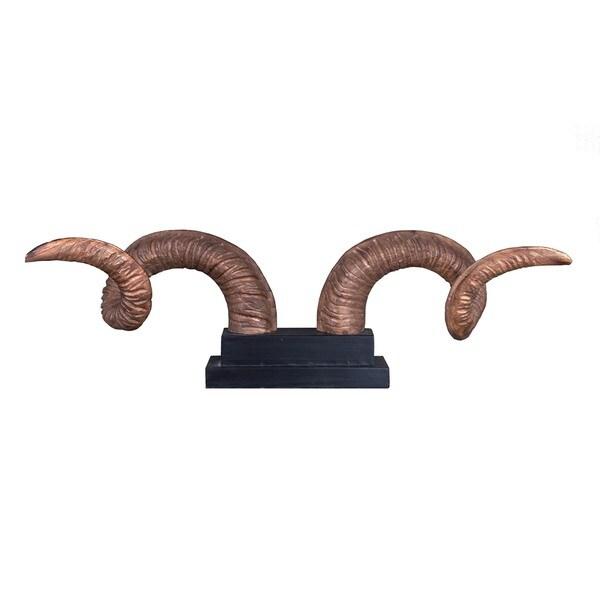 Jeanerette Decorative Bull Horn Dcor