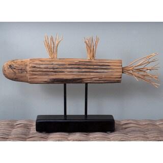 Chataignier Wooden Fish Décor