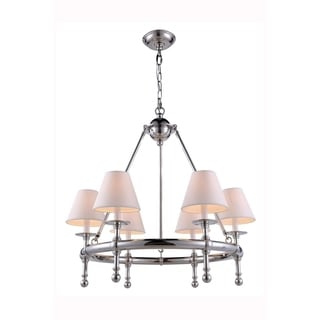 Montgomery Collection 1406 Pendant lamp with Polished Nickel Finish